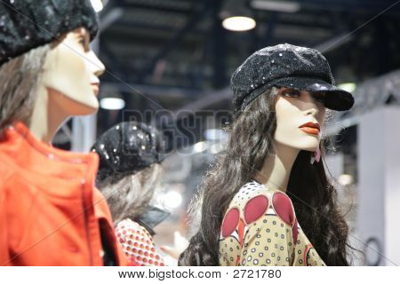 Mannequin Woman In Shop