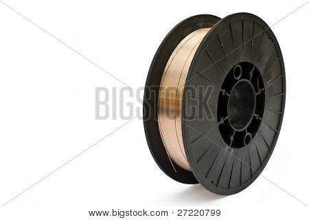 isolated spool on a white background