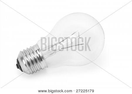 bulb Over White