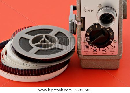 Filmadora & carretes
