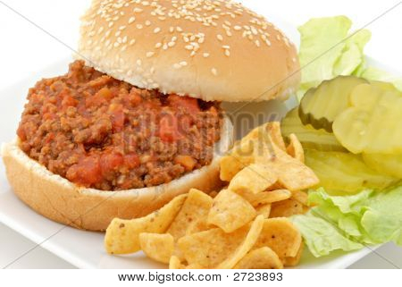 Sloppy Joe Lunch