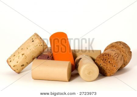 Modern And Traditional Wine Cork