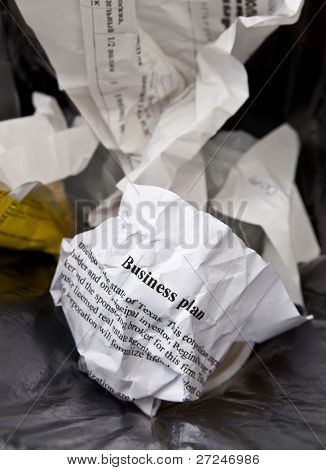 Bad business plan