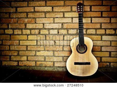 Classical Spanish guitar