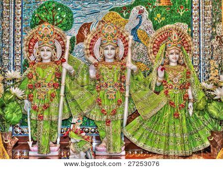 Lord Rama, Sita & Laxman