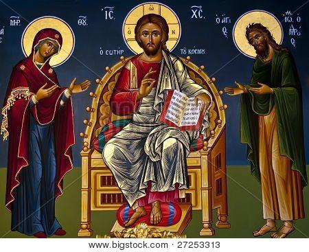 Ancient Orthodox icon