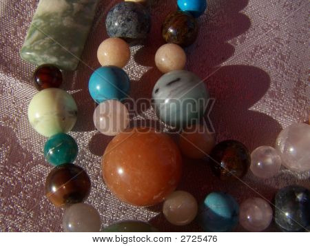 Colors Of Gem Beads