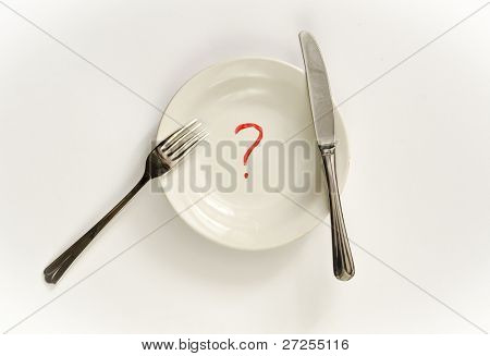 Diet. Conceptual photo