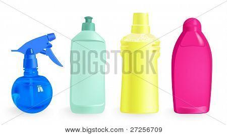 detergentia - vectorillustratie