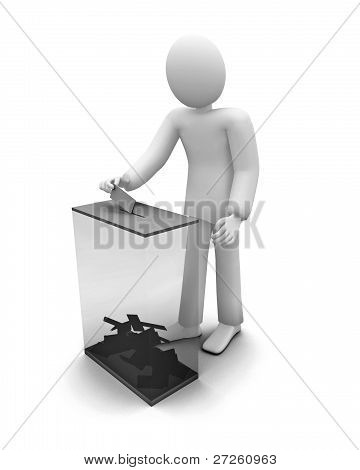 3d human voiting, elections