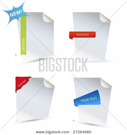 A set of document icons