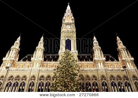 Rathaus von Wien, Österreich