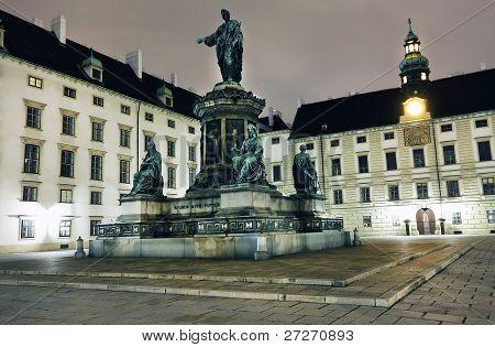Architectural landscape in Wien, Austria