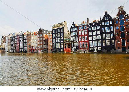 Urban landscape in Amsterdam, the Netherlands