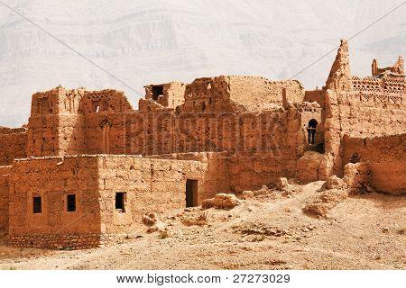 Moroccan kasbah