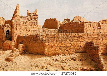Moroccan kasbah ruins