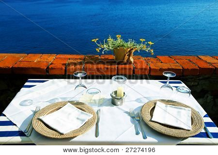 Seaside table