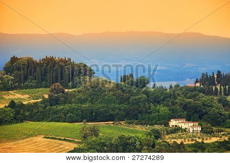 Tuscan landscape, Italy, Europe
