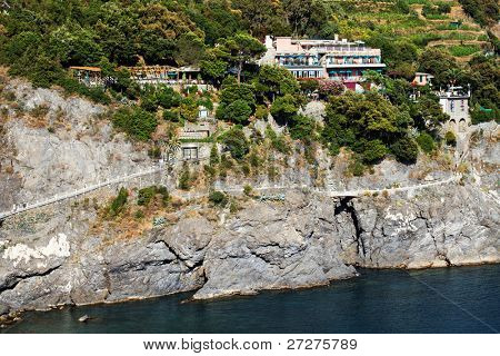 Monterosso al Mare on the Ligurian Coast, Cinque Terre, Italy