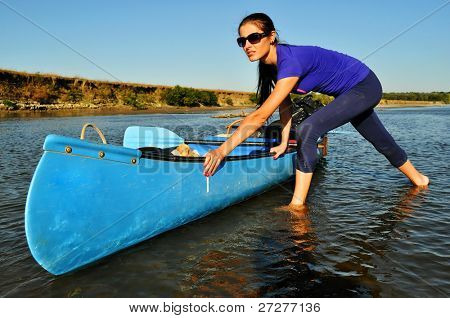 Canoeing expedition