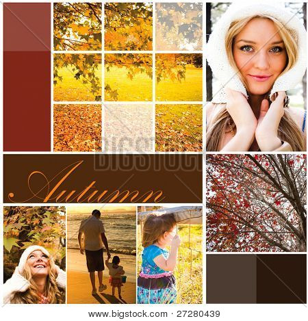 Autumn holiday design
