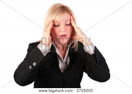 Middleaged Woman Haedache 2