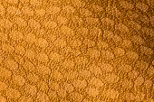Light Brown Leather For Concept And Idea Style Of Fine Leather Crafting, Handcrafts Work Space, Hand poster