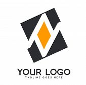 Luxury Logo With Basic Color, Modern Designs For Industry And Business, Interior Logo, Restaurant Lo poster