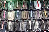 Grand Bazaar, Istanbul, Turkey: shop men's suits - fake famous brands poster