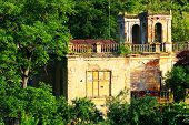 stock photo of raunchy  - Abandonned mansion - JPG