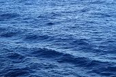 foto of atlantic ocean  - Ocean waves in the middle of the Atlantic Ocean - JPG
