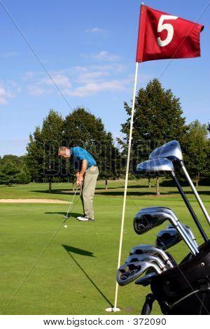 Scene Of Golf