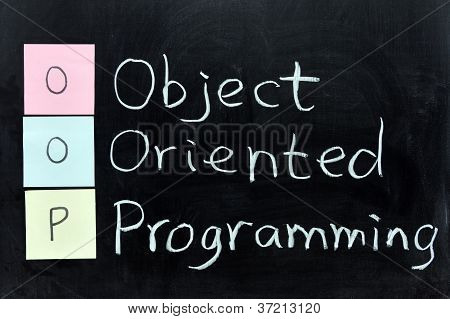 Oop, Object Oriented Programming