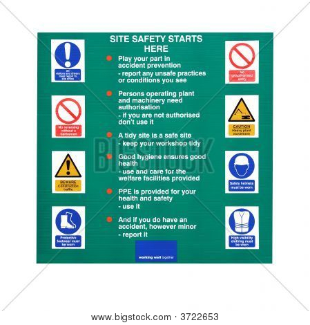 Constructuion Site Rules