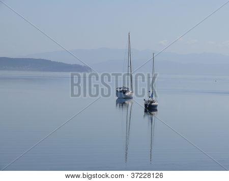 sailing boats on puget sound