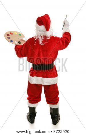 Artist Santa Full Rear View