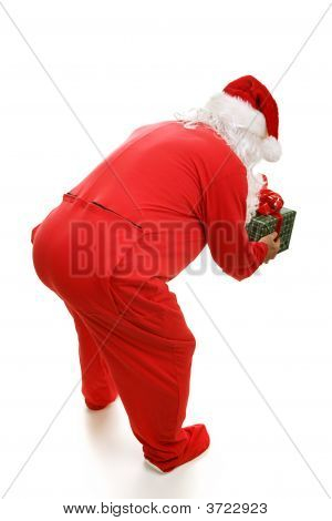 Bedtime Santa From Behind