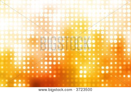 Orange And White Glowing Futuristic Background