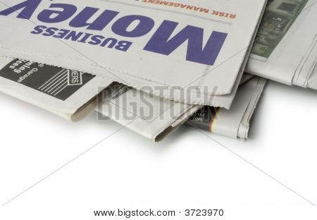 Newspaper - The Money Pages