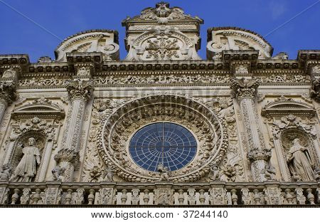 The Santa Croce Basilica, Italy