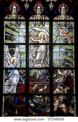 Vitr�, Brittany, Stained Glass