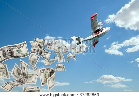 Hydroplane And Dollars