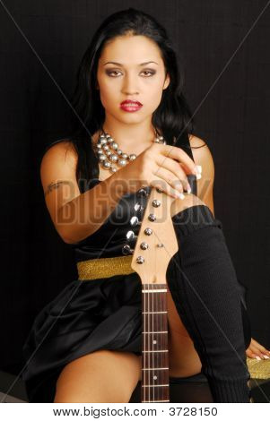 Hispanic Female Rocker