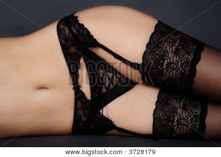 Lacy Garter Belt
