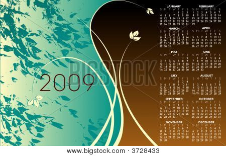 2009 Floral Calendar