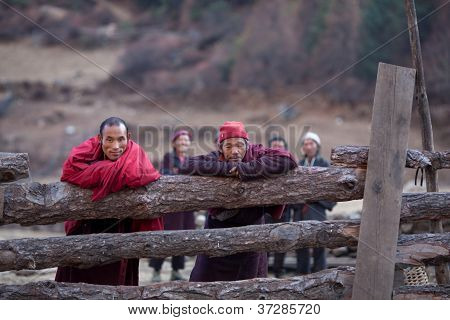Buddhist monks, Nepal