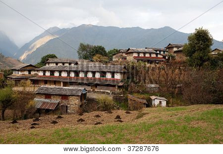 Ghandruk - Biggest Village Of Gurungs