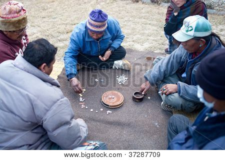 Yam - Tibetan game