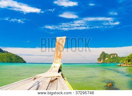 Lagoon Landscape Ship Nose