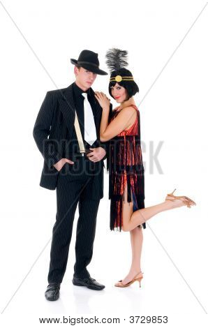 Retro Couple, Lindy Hop